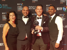 Beko Scoops Prestigious BT Sport Award