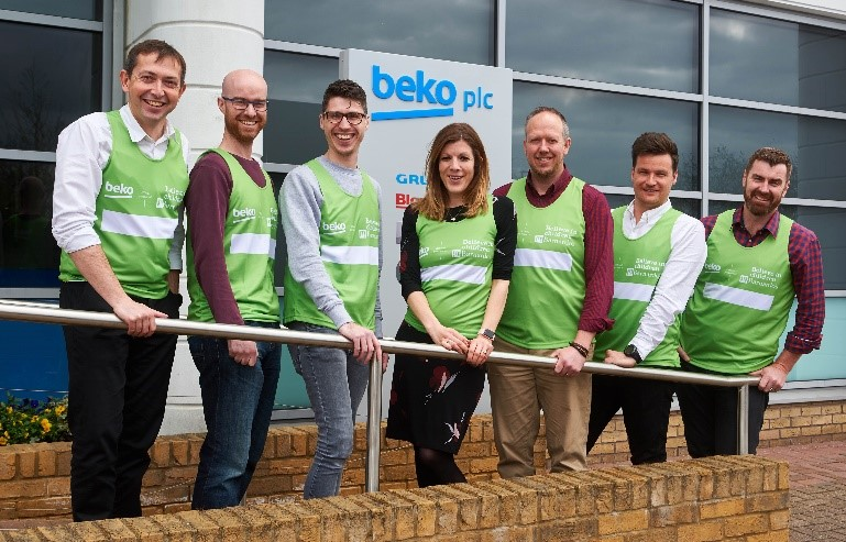 Team Beko goes the extra mile