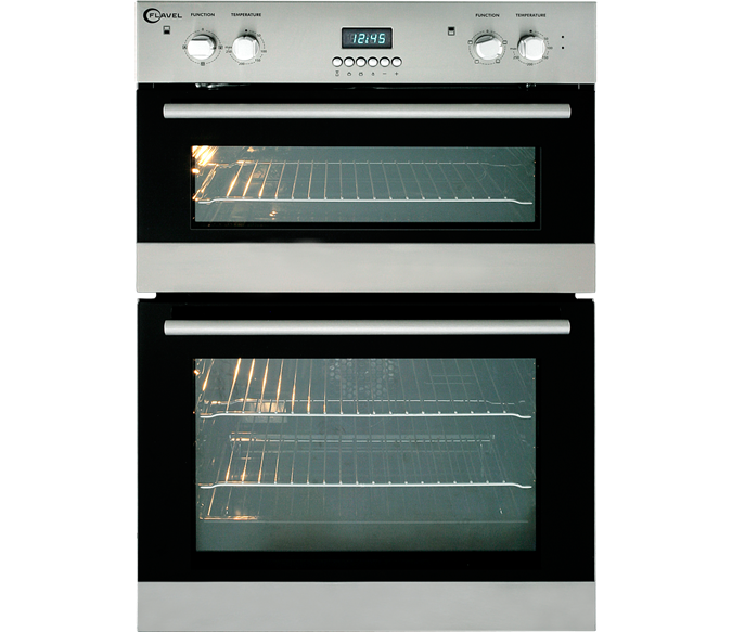 Large Built In Double Oven Part - 28: 90 Cm Built-in Fan Double Oven